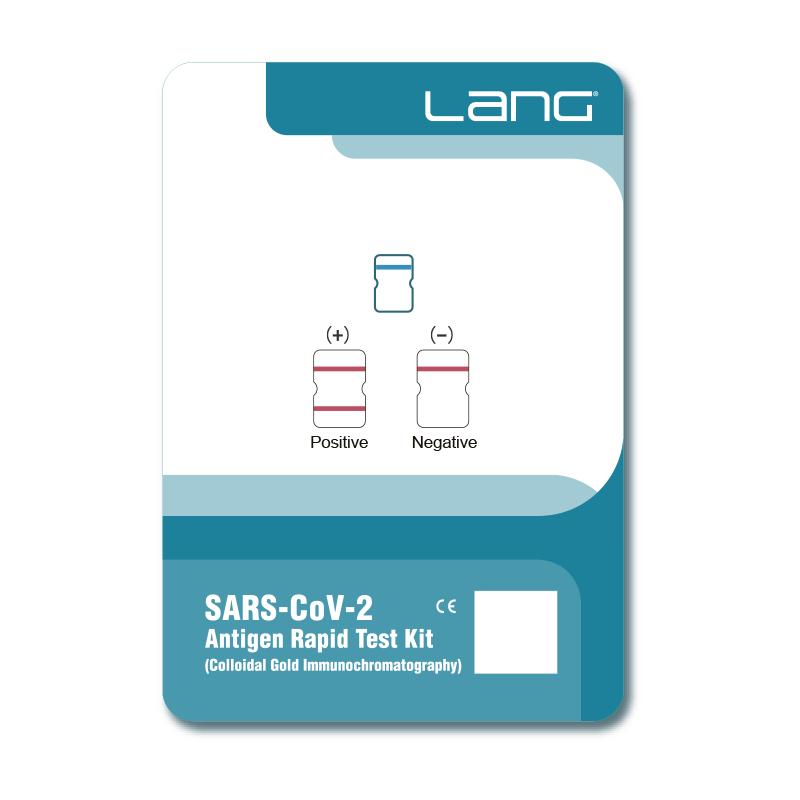 Kit de Teste Rápido com Antígeno de SARS-CoV-2